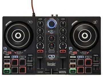 Hercules DJ Inpulse 200 konzoly