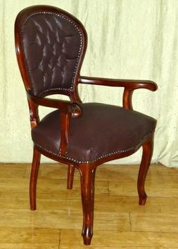 Štýlová stolička ARMCHAIR k taburetke DESK RETRO