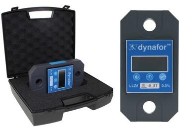 Trakčný dynamometer Elektronický dynamometer 6.3 Pol