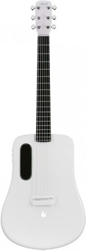 Lava Me2 Free Boost White ElectroAcoustic Guitar