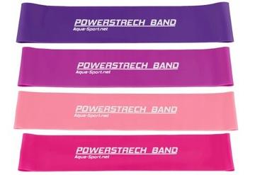 Sada 4 gumy pre cvičenie Mini Band Fitness páska