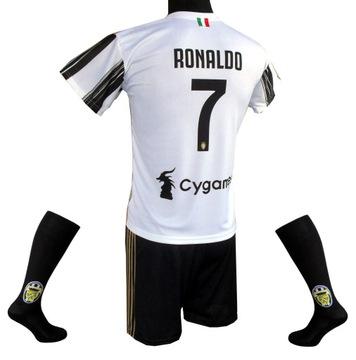 Futbalový oblek Ronaldo 2020/2021: 140 cm
