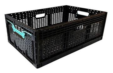 Plastová skrinka zložené pre autá nakupovanie 60x40