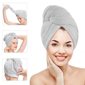 Hlava uterák Turban pre rýchle sušenie vlasov