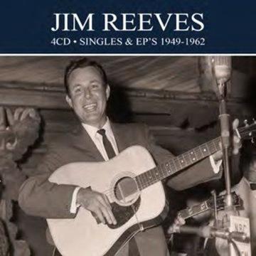 Jim Reeves: Singles + EPS 1949-1962 [4CD]
