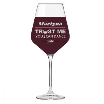 Sklo s víno Engrger XXL darček 30,40,50