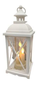 LANTERN LAMPON LED svietnik - Biała Biała