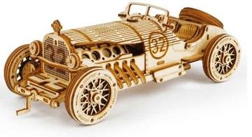ROBOTIME Drevený 3D klasický model autíčka