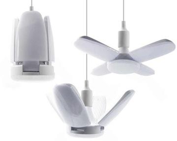 28W žiarovka vedená ako štvorramenný luster