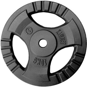 Liatinové zaťaženie 10 kg dosky volant 30,5 mm