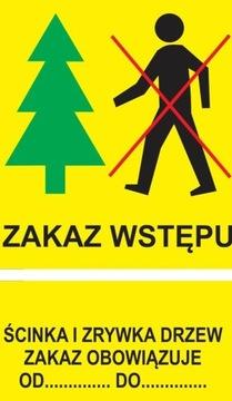 Zákaz vstupe a stromu Strom Scrapbook