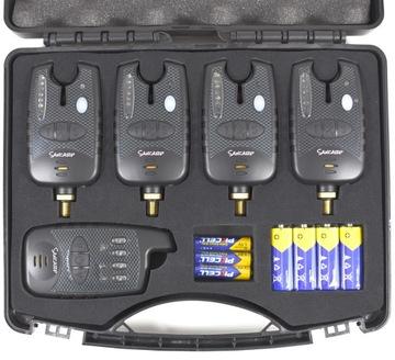 Sada 4 + 1 centrálneho signalizačného zariadenia + Voľná hmotnosť !!!