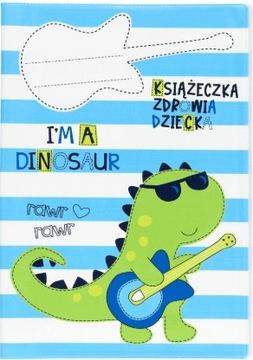 Obal pre knihu zdravia detí Dino