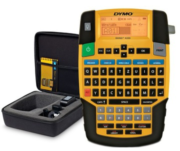 DYMO Printer Kit Rhino 4200 + páska + kufor