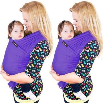 ELASTICKÉ ŠÁLKY pre nosenie šatiek pre deti