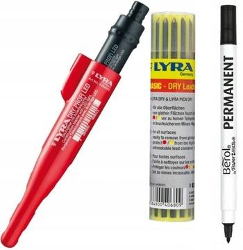 LYRA Professional Dry + LED stavebná ceruzka
