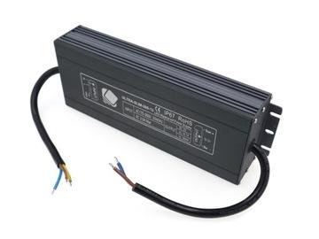 12V 200W 16.7A Napájanie pre vodotesné LED prúžky