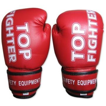 Boxerské rukavice pre deti červené 8 oz
