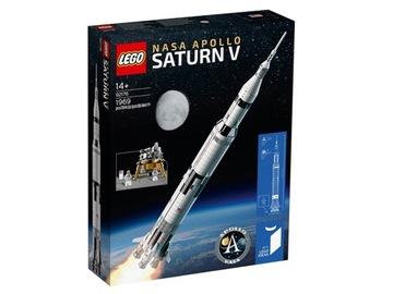 LEGO IDEAS 92176 21309 Raketa NASA Apollo SaturnV
