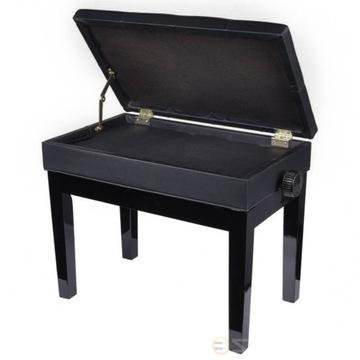 Bench na klavír klavír nastaviteľný so schránkou