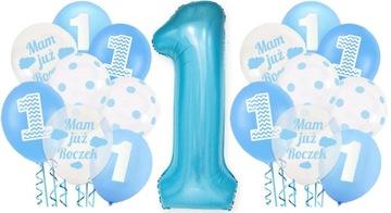 Balón nastavený na prvé 1. narodeniny chlapca