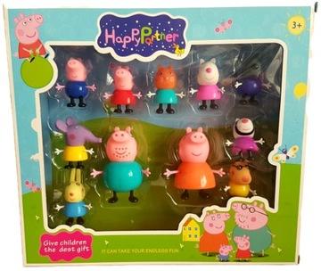 Figúrky Peppa Pig Pepa 11 ks Family SET