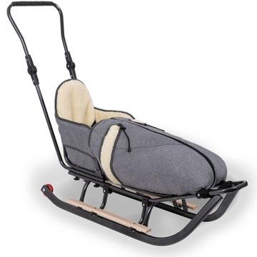 Kolieska na spanie s posunovacím operadlom posúvača chrbta
