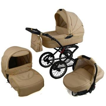 Kočík POLARIS 3v1 DEEP WALK RETRO SEAT