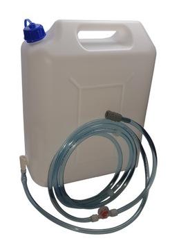 Systém plnenia vody pripravený na použitie