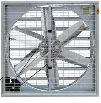 Peak stenový ventilátor 44500 m3 / h s uzáverom