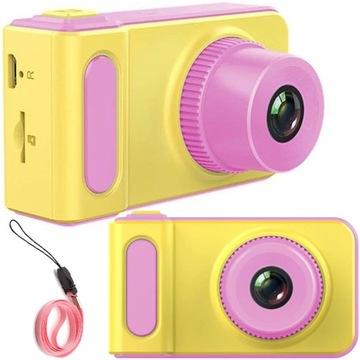 Fotoaparát Digitálny fotoaparát pre deti HD 1080P + hry 1