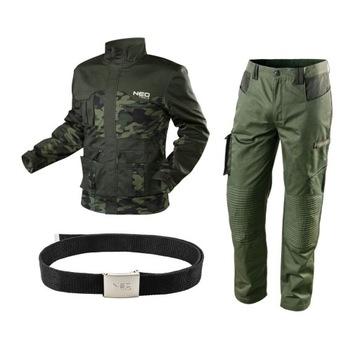 Sada mužského pracovného oblečenia, rozs.xl, neo