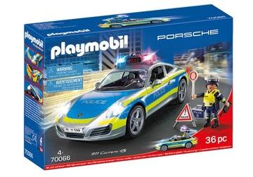 Playmobil 70066 Porsche 911 Carrera 4S Polícia