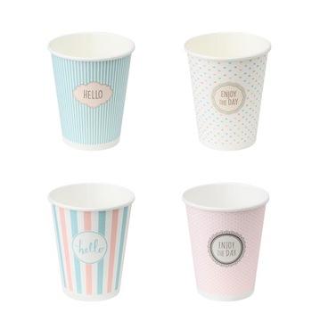 Kávové poháre na kávu 250ml 100 kusov