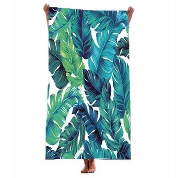 Plážový uterák veľký kúpeľ letné uteráky XXL