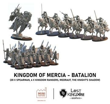 Kráľovstvo Mercia - Batalion - Stratené kráľovstvo