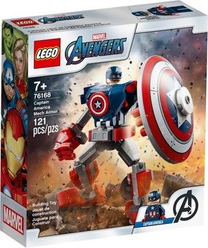 Lego Marvel Avengers Mech Captain America 76168