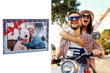 Foto puzzle s fotografiou 1000el s darčekovým krabičkou