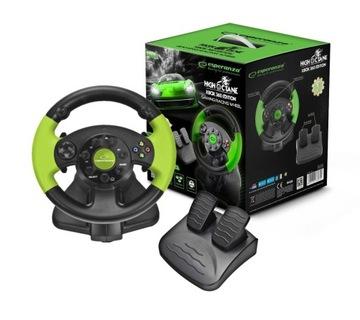 Volant s vibráciami Xbox 360 PC PS3 USB pedále