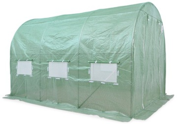 FÓLIOVÝ TUNEL Skleníkové skleníky 2x4 8m2