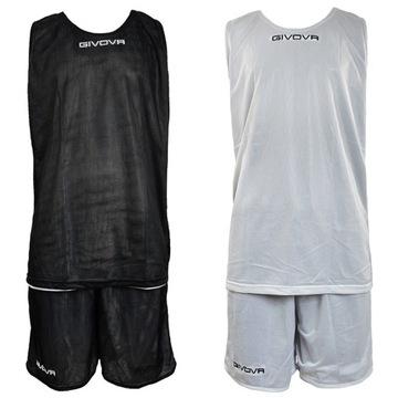 Sada basketbalového oblečenia. Obojstranné R S