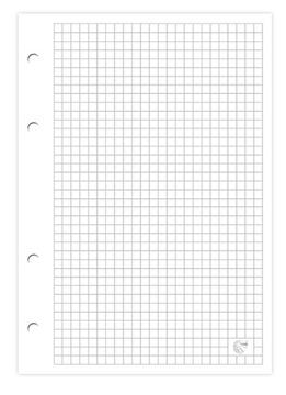 Viazačová vložka A4-100 INTERDRUK biele listy