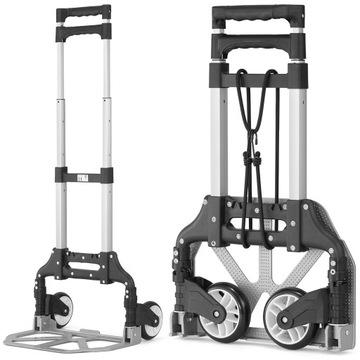 Dopravný hliníkový vozík skladajúci vyššie 70 kg