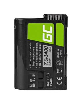 Batéria batérie EN-EL15 na Nikon Z5 Z6 Z7