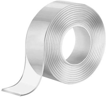 Nano pásková páska obojstranná hrubá priehľadná 3m