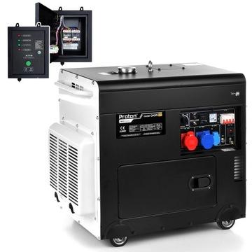 Tichá generátor výkonu Diesel Dual 10.6KVA SZR
