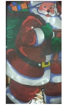 Santa Claus LED svieti VEĽKÁ HVIEZDOVÁ VIANOČNÁ VÝDOBA