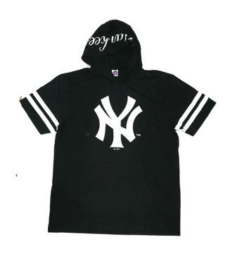New York Yankees Majestic XL s kapucňou Tričko