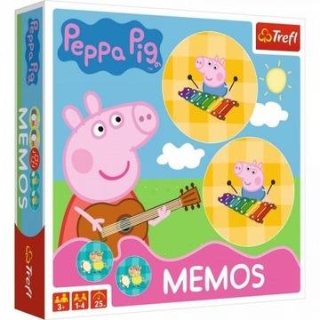 Pamäť Peppal Pig Pamäť hra hra Memo Pamäť