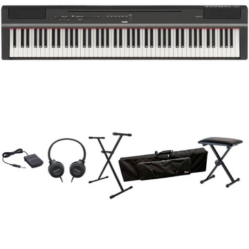 Yamaha P-125 B Digitálne klavír XXL Set